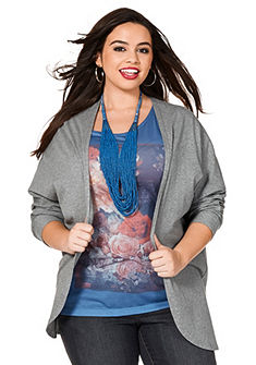 sheego Trend Pletený sveter