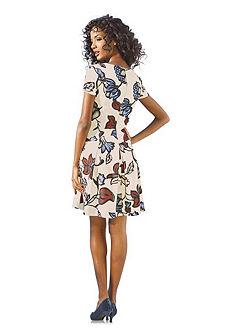 Alakformáló mintás ruha