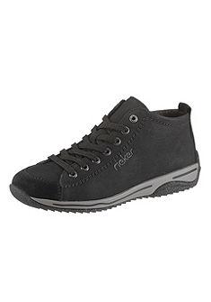 Rieker fűzős magas szárú cipő
