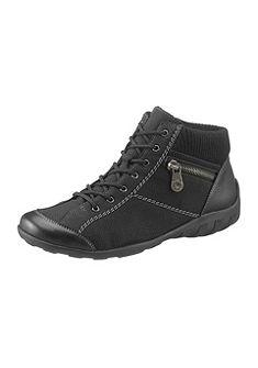 Rieker fűzős magasszárú cipő