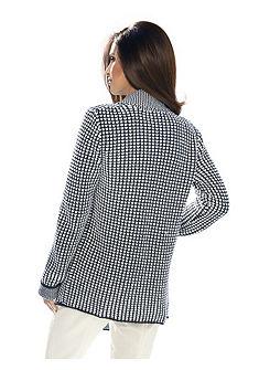Pletený dlouhý svetr