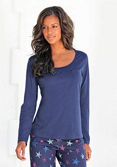 Pyžamové tričko s dlouhým rukávem