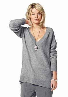 Laura Scott V-kivágású pulóver