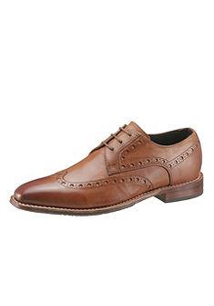 GORDON & BROS üzleti fűzős cipő Lyra lyukasztással