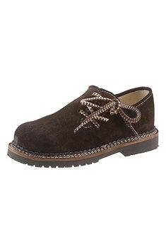 Detské topánky so vzorovanými šnúrkami, Spieth & Wensky