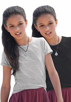 kidsworld Tričko s dlouhým rukávem a šála, pro dívky