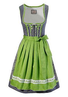 Krojové šaty v midi délce a džínovém vzhledu, Stockerpoint