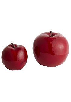Dekorácia, jablko (2 ks)