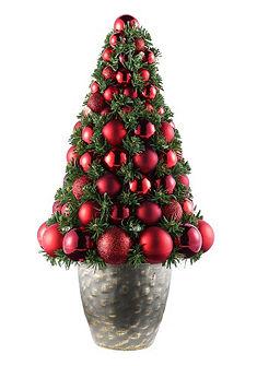 Gömbös karácsonyfa