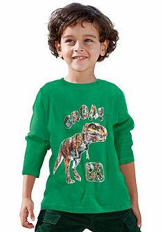 CFL hosszú ujjú felső dinoszauruszos mintával, fiúknak