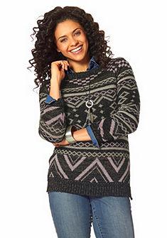 Boysen's jacquard pulóver