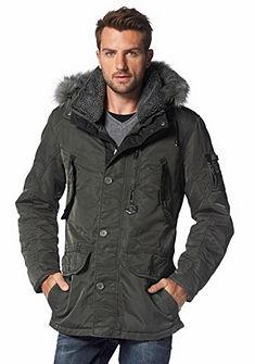 Zimní dlouhá bunda
