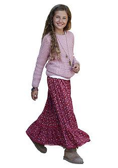 Dlhá sukňa, pre dievčatá