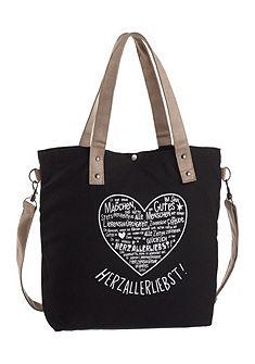 Adelheid shopper táska nyomott képpel