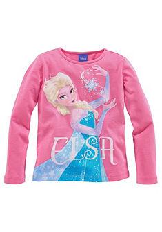 Disney Tričko s dlhým rukávom, Ľadové kráľovstvo princezná Elsa, pre dievčatá