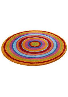 Fürdőszobaszőnyeg,kerek, Meusch, »Mandala«, magasság kb 20mm, csúszásgátló hátoldallal