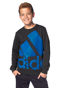 adidas Performance ESSENTIALS OVER-SIZED LOGO CREW SWEAT szabadidőfelső