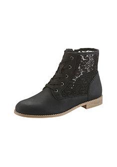 Šněrovací boty vysoké