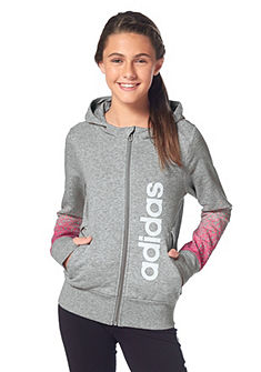 adidas Performance WARDROBE FUN FULL ZIP HOODIE Mikina s kapucňou