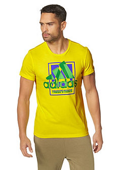 adidas Performance COUNTRY LOGO TEE póló