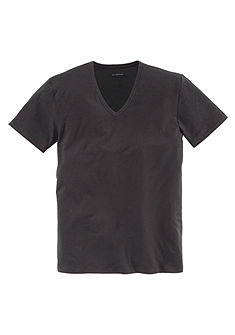 Mey V nyakú póló, gyorsan száradó pamutból, hátul kicsit hosszabra szabott, mint elöl