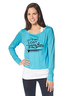 OCEAN Sportswear Tričko s dlouhým rukávem+ top