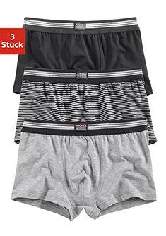 Jockey boxeralsó (3 db), divatos boxeralsó egyszinű és csíkos