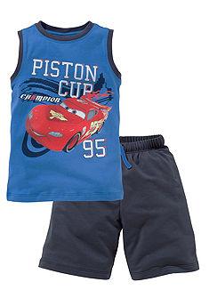 Disney Cars top & bermuda PISTON CUP (2 részes), fiúknak