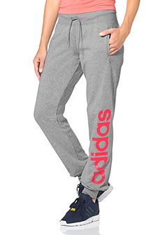 adidas Performance ESSENTIALS LINEAR CUFFED PANT Joggingnadrág