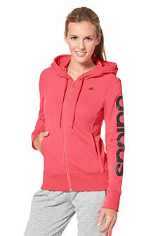adidas Performance ESSENTIALS LINEAR HOODY mikina s kapucňou