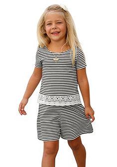 Kidoki póló & nadrág csipkével(szett, 2-részes), lányoknak