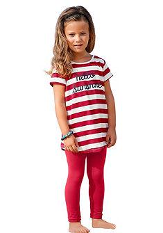 Kidoki hosszú póló&legging (szett, 2 részes), lányoknak