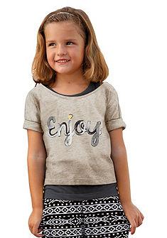 Tričko + top, pre dievčatá