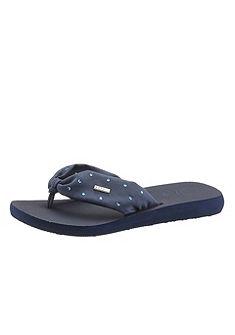 Esprit strasszköves lábujjközös papucs