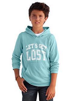 Tričko s kapucňou, pre chlapcov