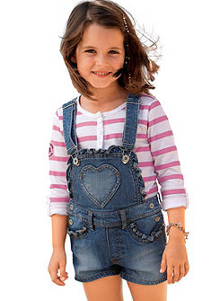 Kidoki lányka kantáros farmernadrág