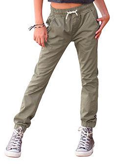 Buffalo cargo nadrág kontrasztszinű zsínórral, lányoknak