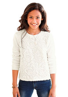 Arizona hosszú ujjú póló horgolt csipkével, lányoknak
