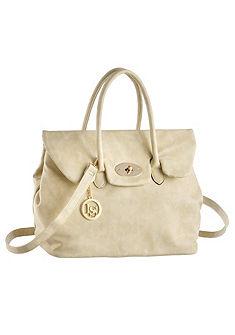 Laura Scott fogantyús táska logo medállal
