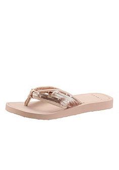 Esprit csillogó lábujjközös papucs