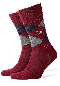Klasszikus férfi zokni, Burlington »Edinburgh«, finom gyapjúzokni, tartós minőség