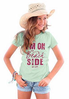 Arizona elöl nyomott mintás lány póló