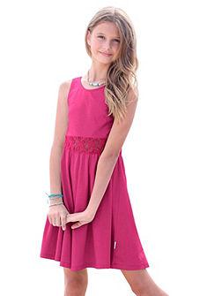 Petite Fleur Šaty s čipkou, dievčenské