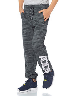 adidas Performance LOCKER ROOM BRAND SWEAT PANT melegítőnadrág