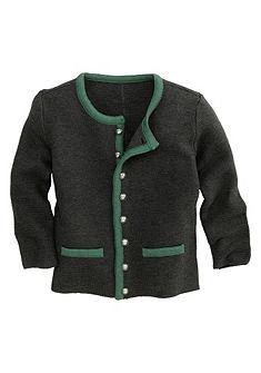 Dětský krojový svetr se zapínáním na knoflíky