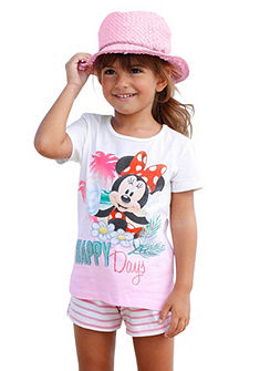 Disney póló & nadrág Minnie egér nyomásmintával (szett, 2 részes), lányoknak