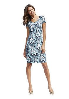 Bodyform-nyomott mintás ruha