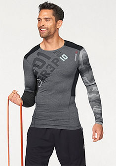 Reebok ONE SERIES PW3R LS COMPRESSION TOP Sportovní triko s dlouhým rukávem