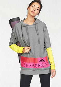 adidas Performance STELLASPORT LONG HOODY Mikina s kapucňou