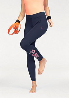 Puma FUN LOGO LEGGINGS Legíny